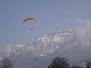 Michael paragliding